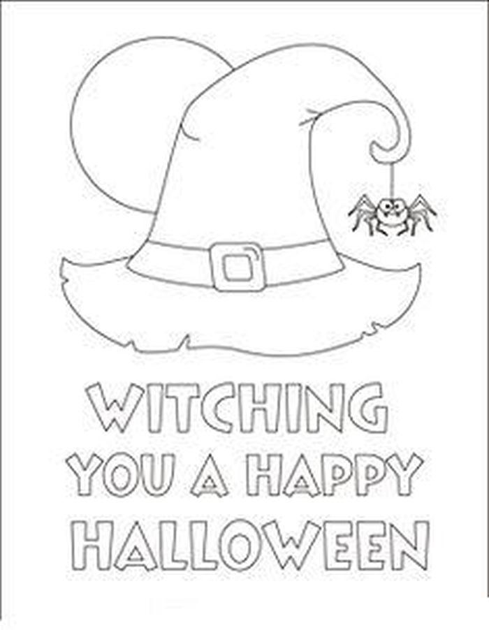 Halloween Színező